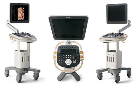Philips ClearVue 650 Ultrasound Machine - Top Tier Medical Inc.